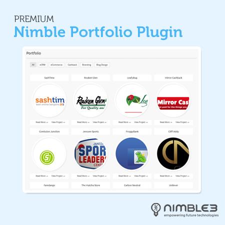 Nimble Portfolio Premium