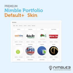 Premium Default+ Skin for Nimble Portfolio
